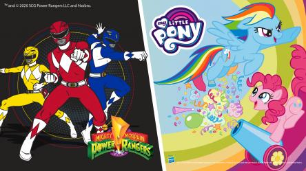 Carnevale con i My Little Pony e Power Rangers